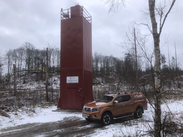 25 februari 2020                                                                       I dag är det vinter i skåne.                                                                                                                                                                                                    Kalkstation Duvhult i Osby kommun.