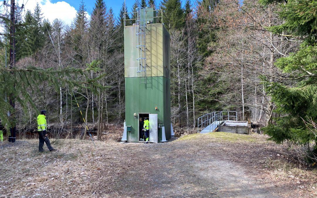 Fönhultaån kalkstation i Varberg April 2021